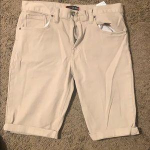 Guess Shorts - Guess khaki shorts